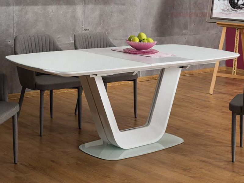 Extendable dining table № 061 719