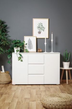 Dining cabinet with two doors and three drawers № 060812155